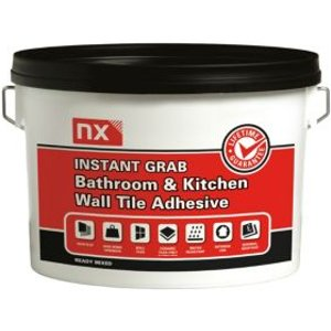 Nx Instant Grab Ready Mixed Off White Tile Adhesive  2.5kg