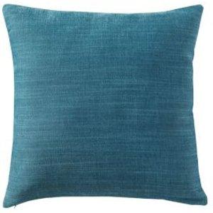 GoodHome Pahea Plain Blue Cushion