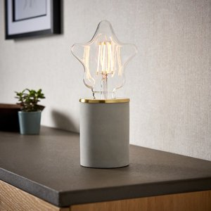 Paige Grey Table Lamp