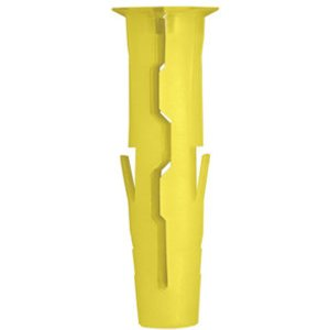 Rawlplug Uno Plastic Wall Plug (l)24mm (dia)5mm  Pack Of 96