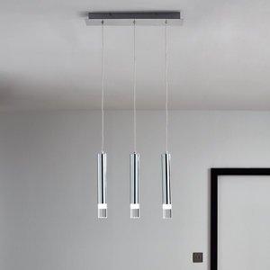 Goodhome Rossak Chrome Effect 3 Lamp Pendant Ceiling Light  (dia)430mm