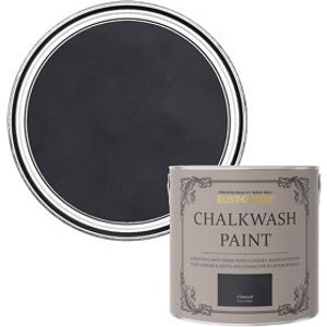 Rust-oleum Chalkwash Charcoal Flat Matt Emulsion Paint  2.5l