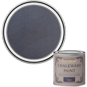 Rust-oleum Chalkwash Dark Denim Flat Matt Emulsion Paint  125ml