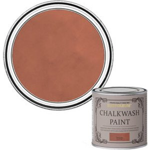 Rust-oleum Chalkwash Terracotta Flat Matt Emulsion Paint  125ml