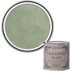 Rust-oleum Chalkwash Tuscan Olive Green Flat Matt Emulsion Paint  125ml