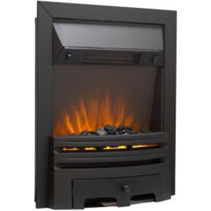 Sirocco Westerly Black Switch Inset Electric Fire