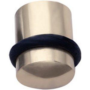 B&q Stainless Steel Floor-mounted Cylinder Door Stop