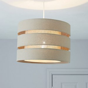 Trio Taupe Light Shade (d)350mm