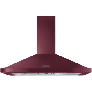 Rangemaster Leihdc110cyc 110cm Chimney Hood Without Rail Finished In Cranberry