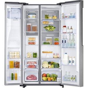 Samsung Rs58k6387sl A+ American Style Fridge Freezer, Water/ice Dispenser