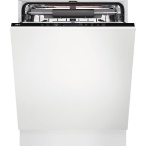 Aeg Airdry Technology Fss63707p Full-size Fully Integrated Dishwasher, Green, Green