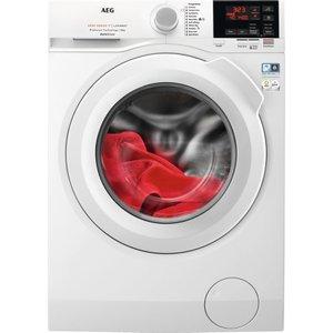 Aeg Autodose 6000 Series L6fbg841ca Wifi-enabled 8 Kg 1400 Spin Washing Machine - White, W, White
