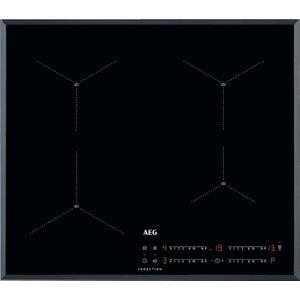 Aeg Iae64411fb Electric Induction Hob - Black, Black, Black