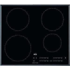Aeg Ikb64401fb Electric Induction Hob - Black, Black, Black
