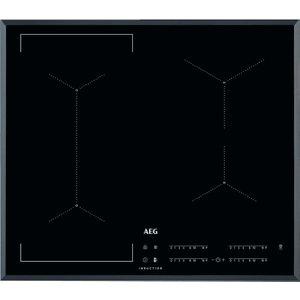 Aeg Ike64441fb Electric Induction Hob - Black, Black, Black