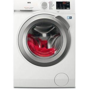 Aeg Prosense L6fbi842n 8 Kg 1400 Spin Washing Machine - White, White, White