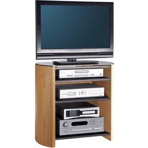 Alphason Finewoods Hifi Series Fw750/4 750 Mm Tv Stand - Light Oak
