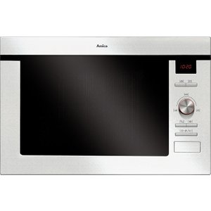 Amica Amm25bi Built-in Microwave With Grill - Stainless Steel, Stainless Steel, Stainless Steel