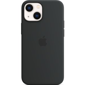 Apple Iphone 13 Mini Silicone Case With Magsafe - Midnight  10230673