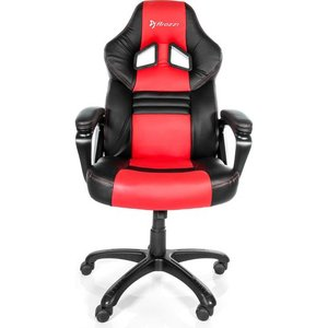 Arozzi Monza Gaming Chair - Red & Black, Red 10231463, Red