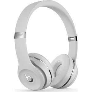 Beats Solo 3 Wireless Bluetooth Headphones - Satin Silver, Silver 10200773, Silver