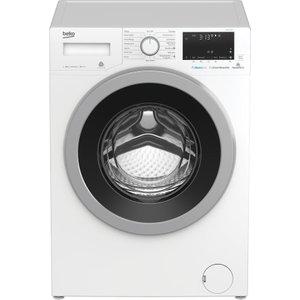 Beko Wx840430w Bluetooth 8 Kg 1400 Spin Washing Machine - White, White, White