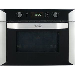 Belling Bi60comw Built-in Combination Microwave - Black, Black, Black