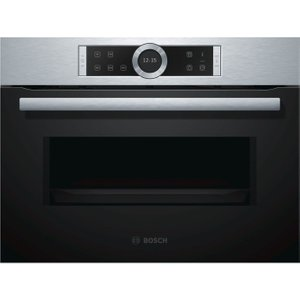 Bosch Serie 8 Cfa634gs1b Solo Microwave - Stainless Steel, Stainless Steel, Stainless Steel