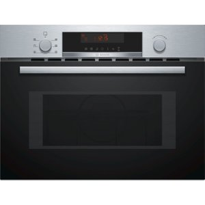 Bosch Cma583ms0b Built-in Combination Microwave - Stainless Steel, Stainless Steel, Stainless Steel