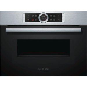 Bosch Serie 8 Cmg633bs1b Built-in Combination Microwave – Stainless Steel, Stainless Stee, Stainless Steel