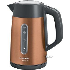 Bosch Designline Plus Twk4p439gb Jug Kettle - Copper