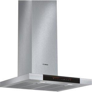 Bosch Dwb068j50b Chimney Cooker Hood - Stainless Steel, Stainless Steel, Stainless Steel