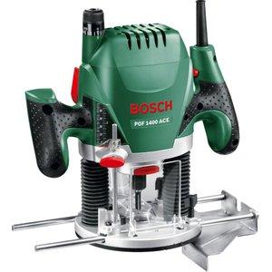 Bosch Pof 1400 Ace Plunge Router - Black & Green, Black 10207753, Black