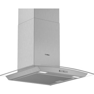 Bosch Serie 2 Dwa64bc50b Chimney Cooker Hood - Stainless Steel, Stainless Steel, Stainless Steel