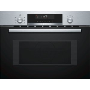 Bosch Serie 6 Cma585ms0b Built-in Combination Microwave - Stainless Steel, Stainless Steel, Stainless Steel