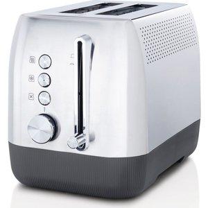 Breville Edge Vtt981 2-slice Toaster - Brushed Stainless Steel, Stainless Steel, Stainless Steel
