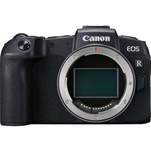 Canon Eos Rp Mirrorless Camera With Mount Adapter, Black 10190951, Black