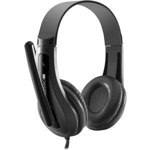 Canyon Cns-chsc1b Headset - Black, Black Cnschsc1b, Black