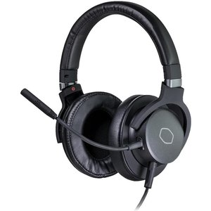 Cooler Master Mh752 Gaming Headset - Black & Grey, Black, Black