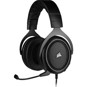 Corsair Hs50 Pro Stereo 2.0 Gaming Headset - Black, Black, Black