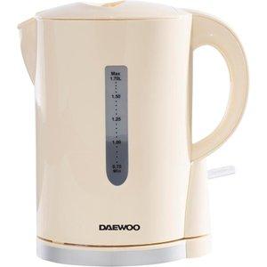 Daewoo Sda1683 Jug Kettle - Cream & Chrome, Cream, Cream