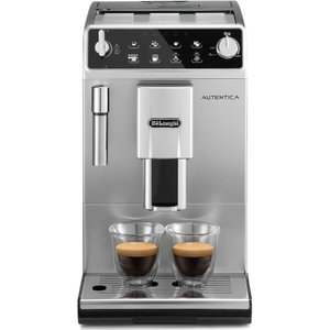 Delonghi Autentica Etam 29.510.sb Bean To Cup Coffee Machine - Silver & Black, Silver, Silver