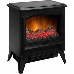 Dimplex Cas20e Electric Fire Stove - Matte Black, Black, Black