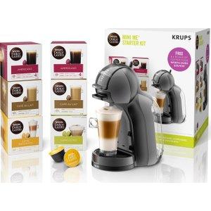 Dolce Gusto By Krups Mini Me Kp120841 Coffee Machine Starter Kit - Black & Grey, Black, Black