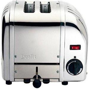Dualit Vario 20245 2-slice Toaster – Stainless Steel, Stainless Steel 2Slice, Stainless Steel