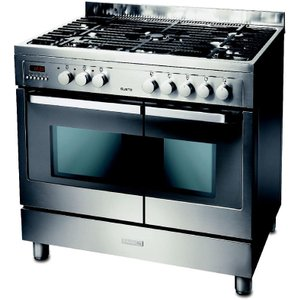 Electrolux Ekm90460x Dual Fuel Range Cooker - Stainless Steel, Stainless Steel, Stainless Steel