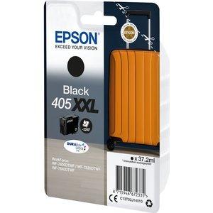 Epson Suitcase 405 Xxl Black Ink Cartridge, Black 10230316, Black