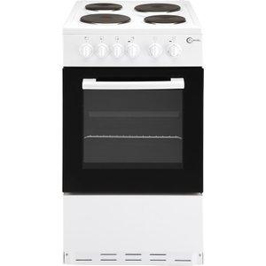 Flavel Fsbe50w 50 Cm Electric Cooker - White, White, White