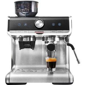 Gastroback 42616 Design Espresso Barista Pro Coffee Machine - Silver, Silver 10220045, Silver