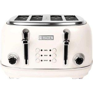 Haden Heritage 194220 4-slice Toaster - White, White 4slice, White